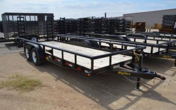 2019 Big Tex Tandem Axle Pipe Utility Trailer