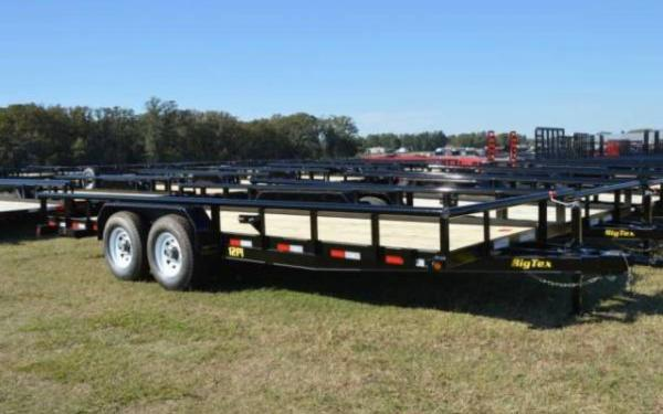 2019 Big Tex Heavy Duty Pipe Tandem Axle Trailer