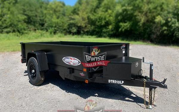 Bri-Mar 5x10-5K Dump Trailer