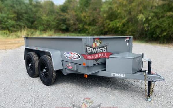 Bri-Mar 6x10-10K Dump Trailer
