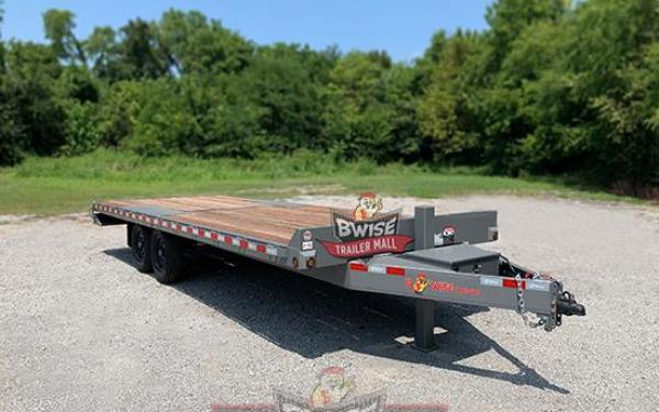 BWise 22'-15K Deckover Tilt Trailer - Clearance Pricing!