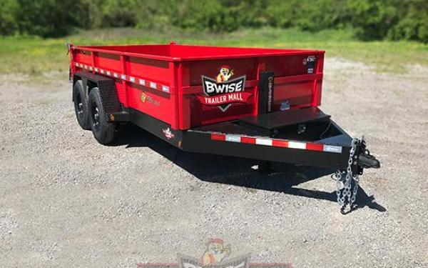 BWise 7x14-15K Dump Trailer