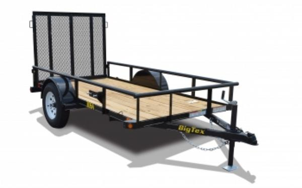 14' Single Axle Utility Trailer