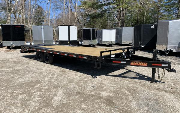 2020 Maxxd DOX 102x24ft deckover equipment trailer w/maxxd out ramps