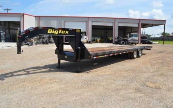 Big Tex 25GN-25+5 Heavy Duty Tandem Axle Gooseneck