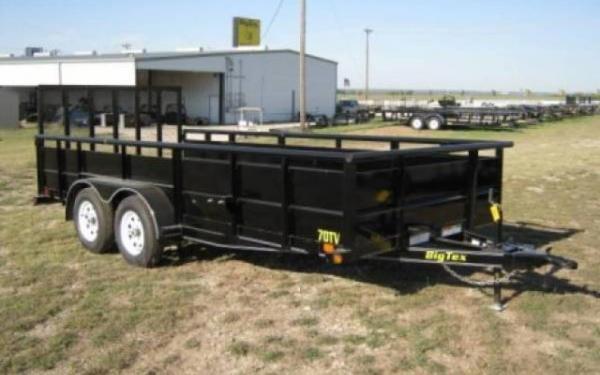 Big Tex 70TV Tandem Axle Vanguard