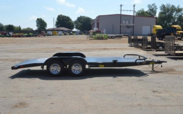 Big Tex 70DM-20BK Steel Deck Car Hauler