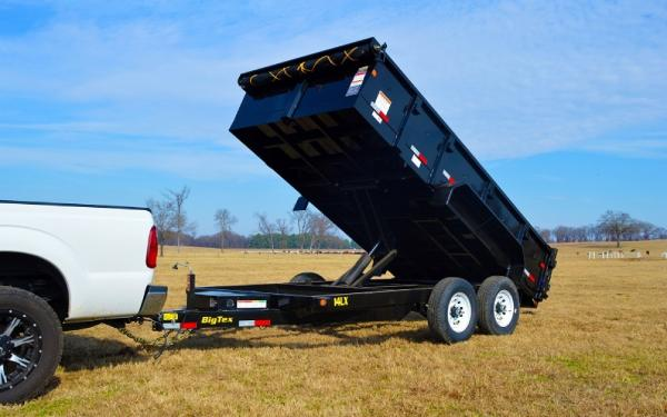Big Tex 14 LX  Dump Trailer