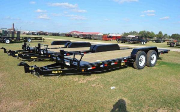Big Tex 14FT Heavy Duty Full Tilt Trailer