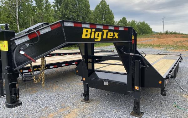"""Big Tex 25GN 102"""" x 20 + 5 Tandem Dual Wheel Gooseneck 25.9k"""