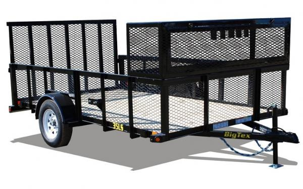 "Big Tex 35LS 77"" Wide Single Axle Landscaper"