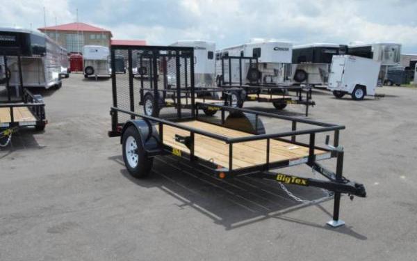 Big Tex 30SA Single Axle Utility Trailer