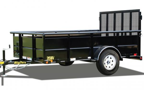 "Big Tex 35SV 77"" Wide Single Axle Vanguard"