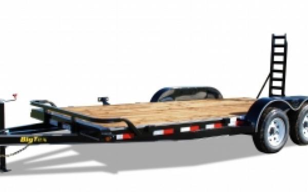 10ET-20' Big Tex Equipment Trailer