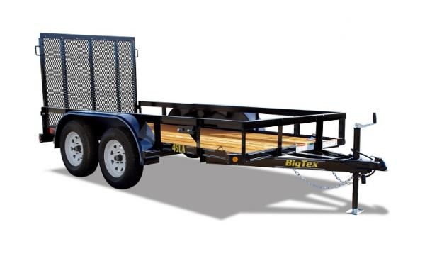 Big Tex Tandem Axle Iron Utility 14'