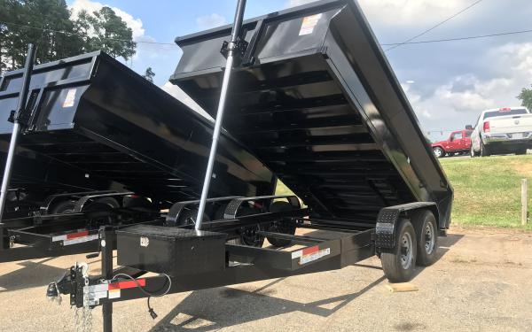 2020 Vision 14k Dump Trailer 7x14- 2' high sides OUT OF STOCK