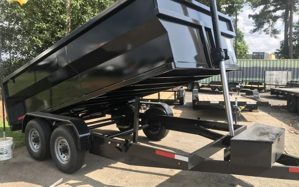 2020 Vision 14k Dump Trailer 7x14- 3' high sides OUT OF STOCK