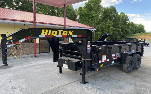 2021 Big Tex 14GX (7x14) GOOSENECK DUMP TRAILER NEW DESIGN