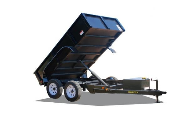 Big Tex 70SR Tandem Axle Single Ram Dump
