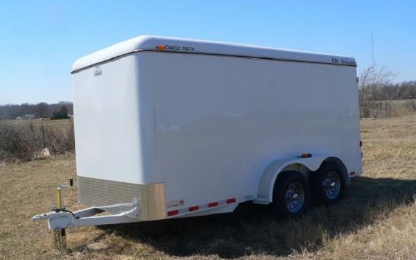 "CM Cargo Mate 6'8""x14' Enclosed Trailer"
