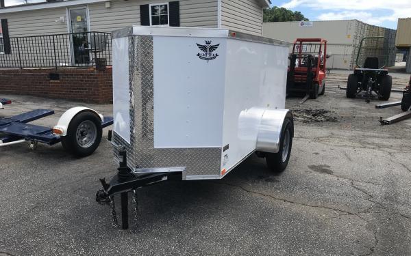 Empire Cargo Trailer 4x8 Garage Friendly