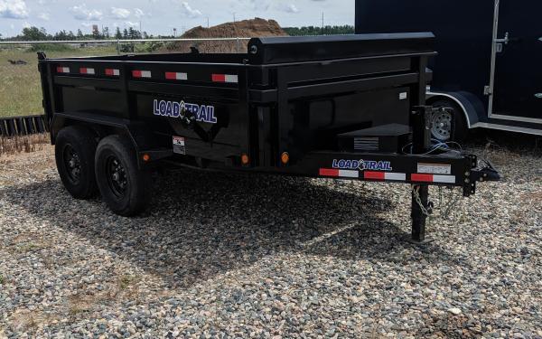 Load Trail 83X12 TA Dump Trailer
