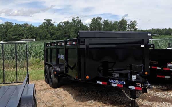 Load Trail 83X16TA SS High Sides Dump Trailer