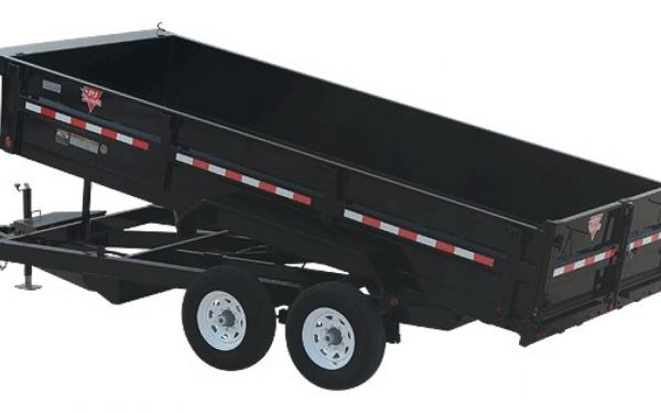 "PJ 83"" Wide XL Dump Trailer"