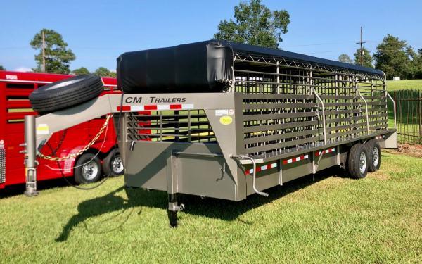24' CM Brush Buster Livestock Trailer NEW ARRIVAL!