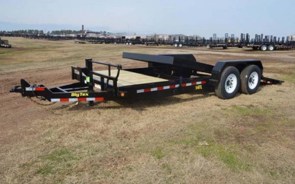 Big Tex Pro Series Tilt Bed Equipment Trailer