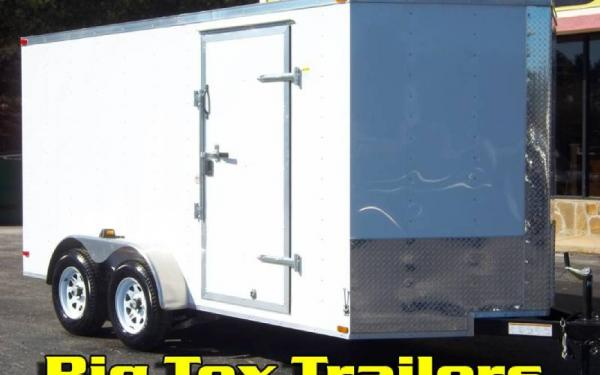 2020 7-Wide Cargo Enclosed Trailers