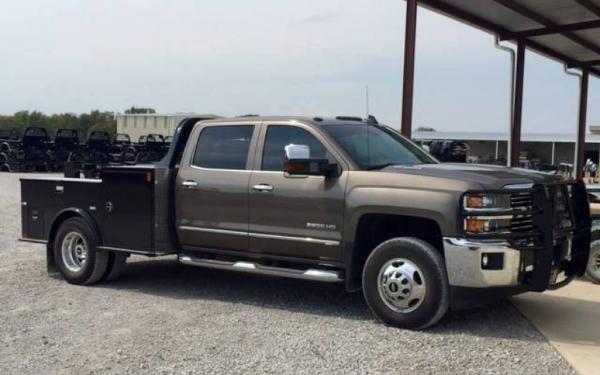 2019 CM TM Steel Tradesman Truck Bed