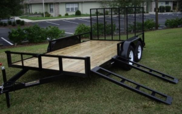 NEW 2017 Triple Crown 7' x 16'  ATV Trailer