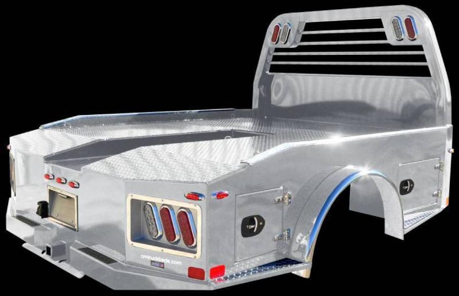 Trailer World: AL ER Aluminum Easy Rider Truck Bed, Truck Beds Listing  Detail
