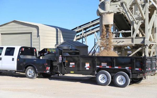 Big Tex 14GX-14BK7SIRPD Tandem Axle Gooseneck Dump Trailer
