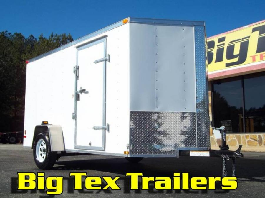 Trailer World 2020 6 Wide Cargo Trailers From Lark 6x10 6x12 6x14 Starting At 2700 Cargo Enclosed Trailers Listing Detail