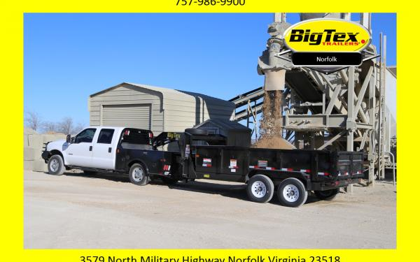 2019 Big Tex 14,000# Gooseneck Dump Trailer! With 2 or 4 foot sides! Starting at $9551
