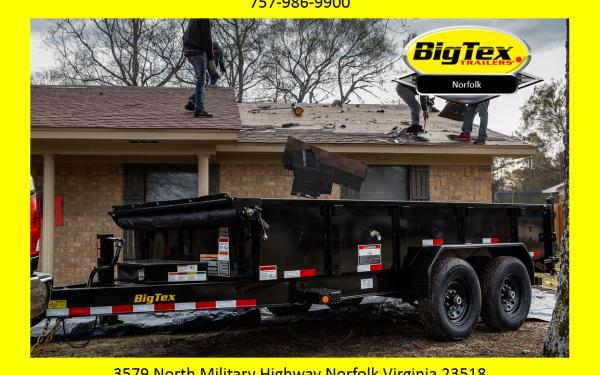 2019 Big Tex Low Profle 14,000# Dump Trailer Starting at $8312