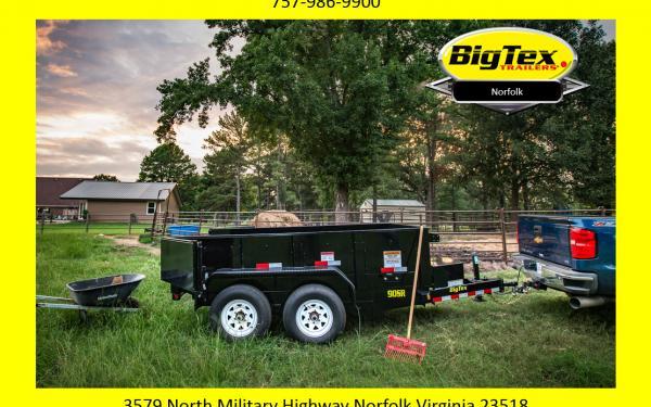 "2019 Big Tex 90SR 72""x10' Single Ram Dump Only $5958"