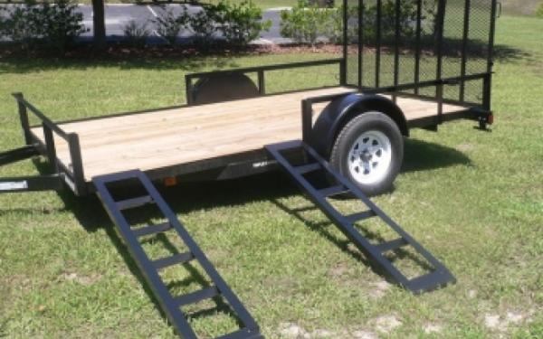 NEW 2017 Triple Crown 7' x 12' ATV Trailer