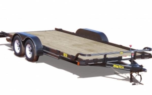 NEW 2017 Big Tex 70CH-18 Tandem Axle Car Hauler