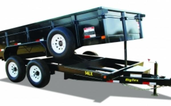 NEW 2017 Big Tex 142X-14  Tandem Axle Low Profile Extra Wide Dump