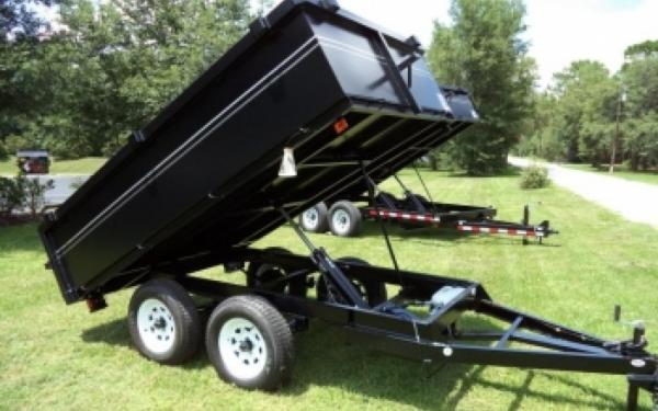 NEW 2107 Triple Crown 6' x  10' Econo Dump Trailer