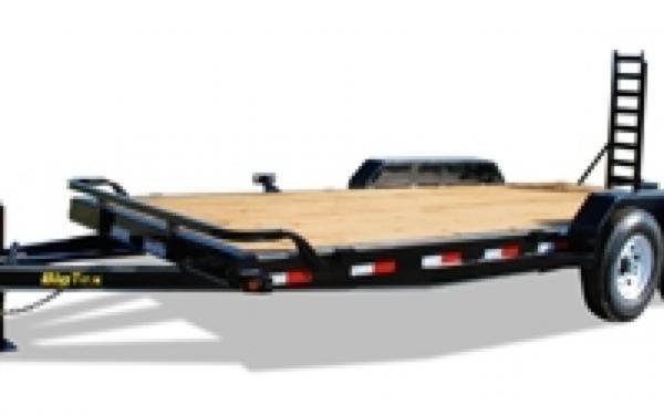NEW 2107 Big Tex 14ET-20 Tandem Axle Equipment Trailer