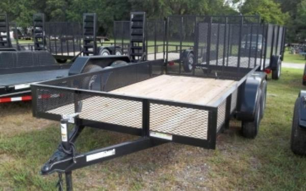 NEW 2017 Triple Crown 6' x 16' Utility Trailer w/ 2'Mesh
