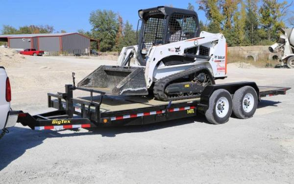 Big Tex 14TL-22BK Partial Tilt Equipment Trailer