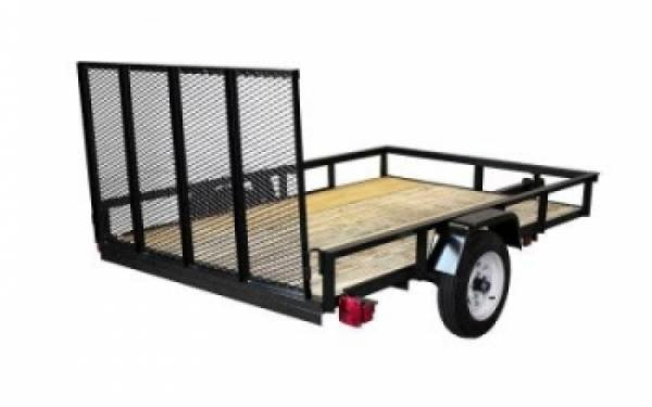 NEW 2017 Triple Crown 5' x 8' Single Axle Trailer