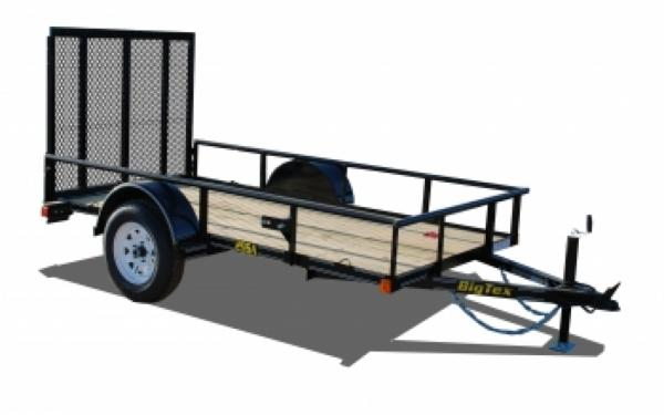 NEW 2107 Big Tex 29SA-10 Single Axle Trailer