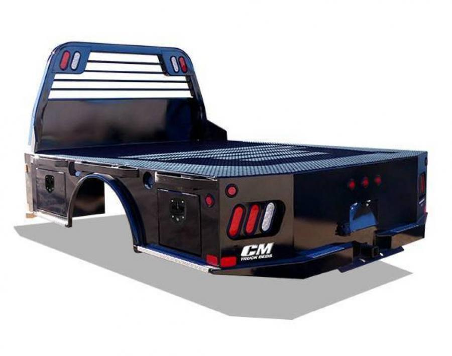 Trailer World: CM SK Steel Skirted Truck Bed w/ LED Lights ... on ford wiring, cm truck beds in texas, cm flat beds for pickup trucks,