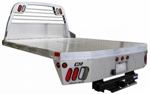 AL RD Aluminum Rail Side Deluxe Truck Bed